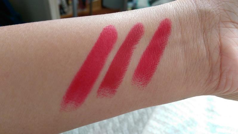 My top 3 red lipsticsk