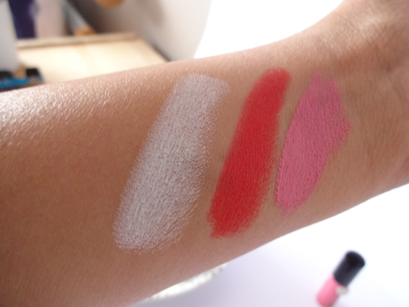 Kiss Cosmetics Swatches