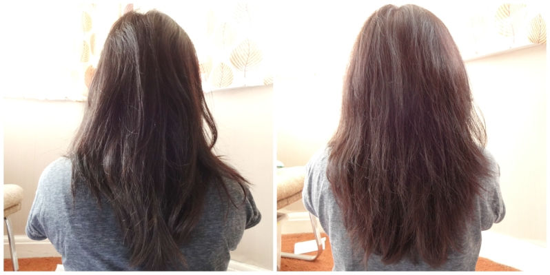 eSalon before and after