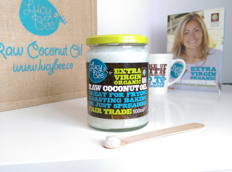 Lucy Bee Extra Virgin Raw Coconut Oil