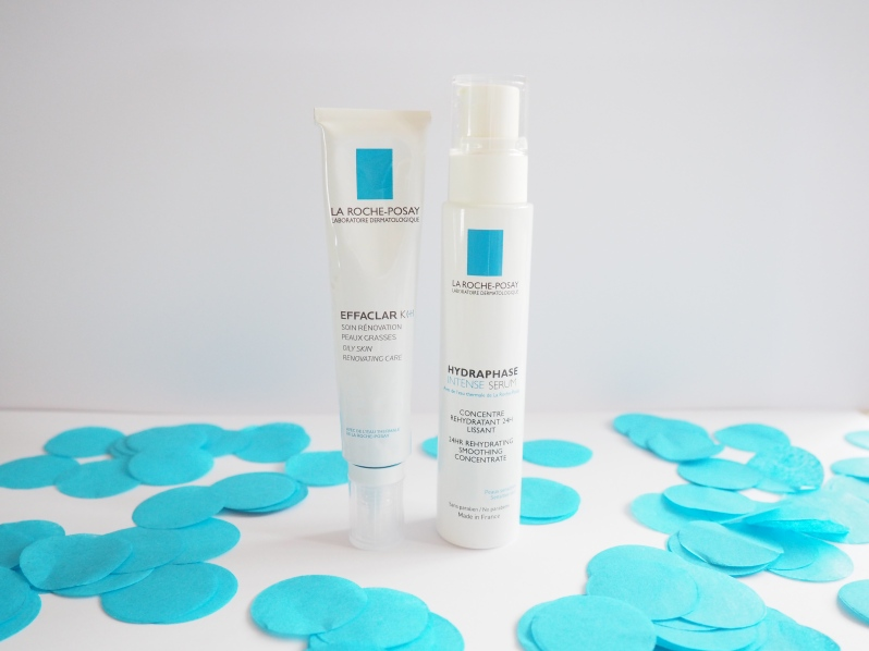 La Roche-Posay new launches effaclar k+ and hydraphase serm