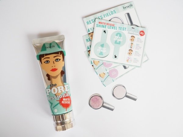 Benefit POREfessional: matte rescue invisible-finish mattifying gel