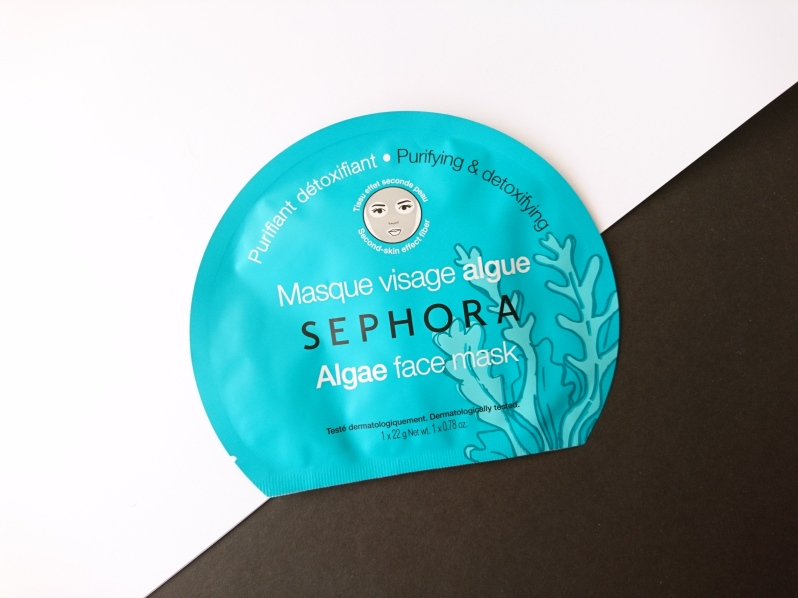 Sephora Algae Face Mask 2